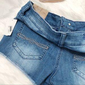 Indigo Rein Shorts - Indigo Rein distressed denim shorts size 7